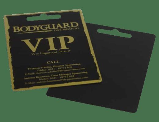Werbekarten VIP-Card