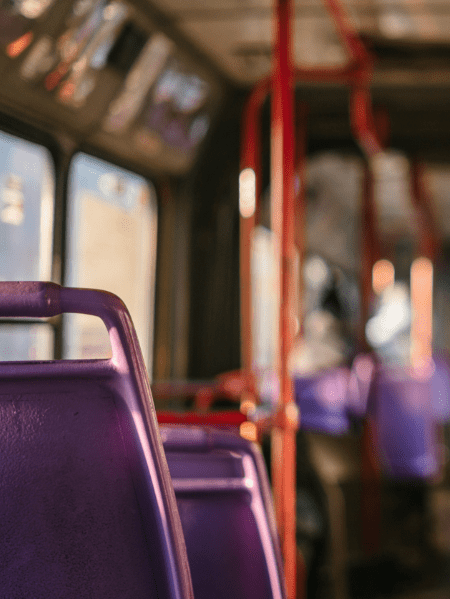 Swing Cards in öffentlichen Verkehrsmitteln