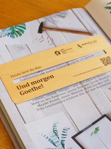 Besonders nachhaltig: Holz-Lesezeichen