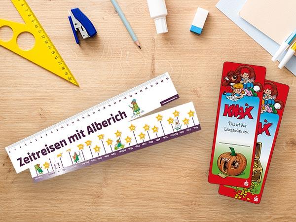 Lineale als Werbemittel für Kinder & Schüler