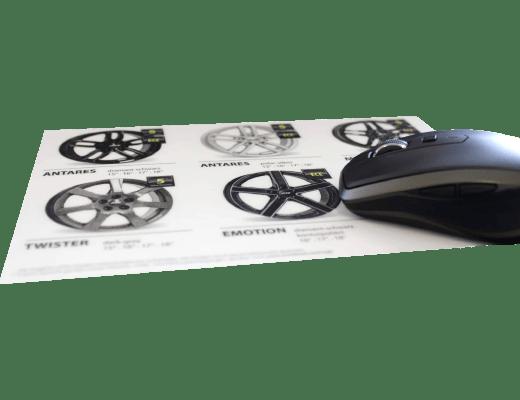 selbstklebende Mousepads